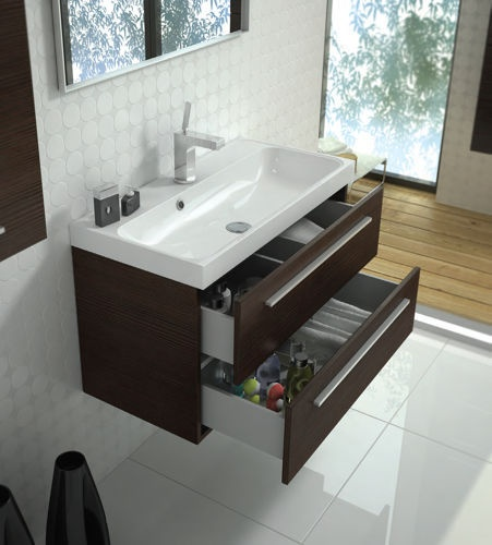 Elita Kwadro #bathroom #furniture #cabinet #lazienka #meble #szafka