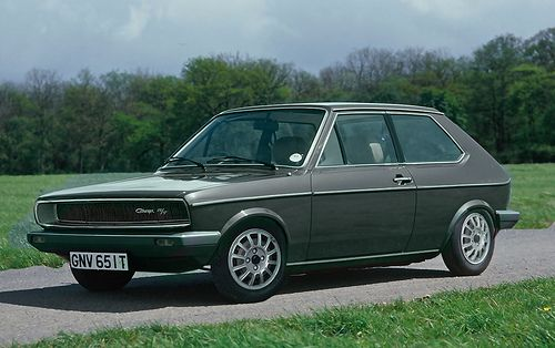 VW Polo Mk1 with Charger scoop by Littlepixel™, via Flickr