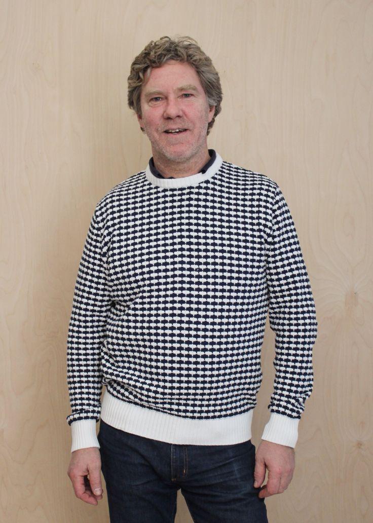 Stickad tröja från Käringön.