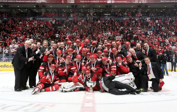congratulations Team Canada #PEPHockey