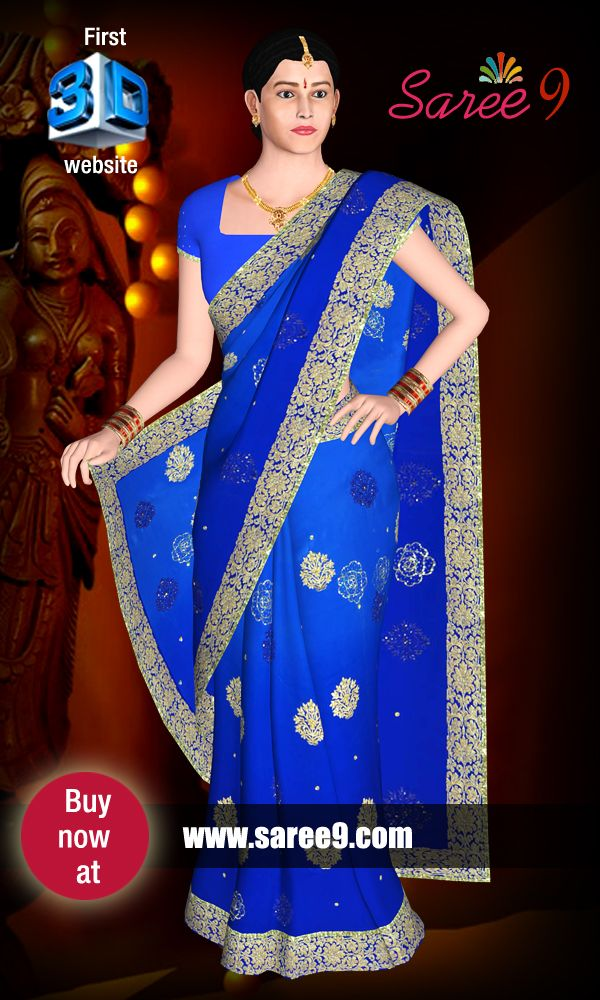 https://www.saree9.com/ The rich user interface enables to experience the realistic feel of Saree worn by a virtual Model with no compromise in quality and fabric of the product.
