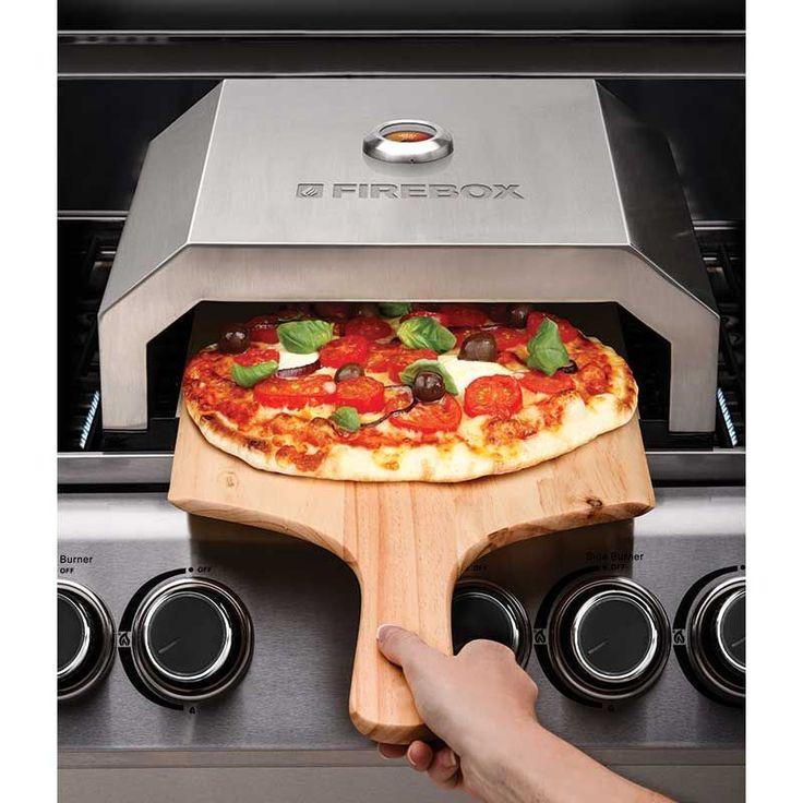 La Hacienda BBQ Firebox Pizza Oven 40cm Width on Sale   Fast Delivery   Greenfingers.com