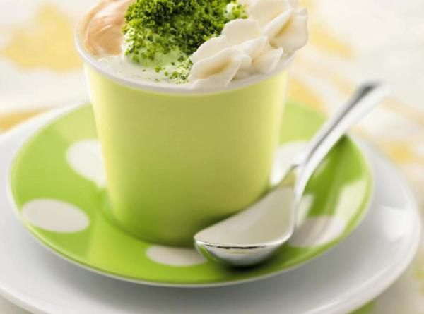 Coffee Pistachio Semi Fredle Drink Recipe