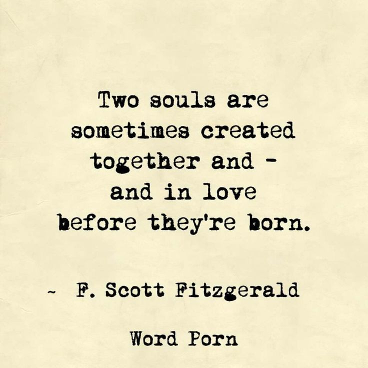 In Love Before Theyu0027re Born   F. Scott Fitzgerald   Quote   Word