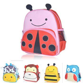 Детский мультфильм мешок школы животных символов холст детский сад для детей животные школьный рюкзак школы ребенок подарок малыш подарок сумки пчелы