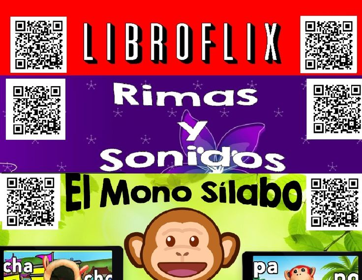 Spanish QR Codes - 465 Story Time, Read Aloud Books, Mono Silabo, Rimas...  What are QR Codes? They are like barcodes. They can be scanned with an iPod, iPad, a smart phone, scanner for your computer, or tablet. Download a QR code scanner for FREE on the App Store. There are several free apps to choose from.   Do you have students coming up saying they can't type the address in correctly to get to the story? QR Codes are so easy for students to scan.