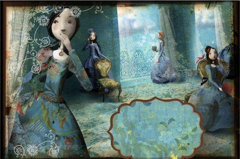SurLaLune Fairy Tales Blog: Twelve Dancing Princesses - Illustration by Miss Clara