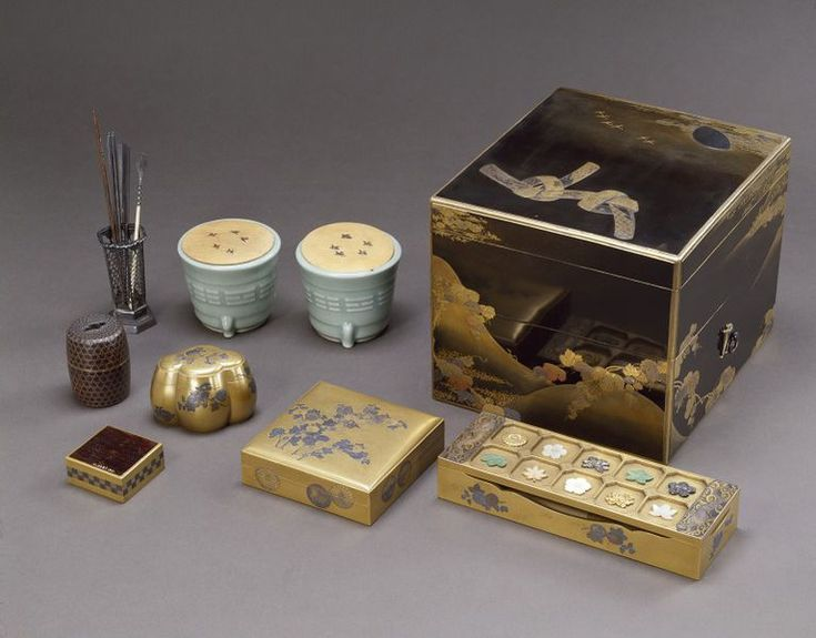 Cabinet for the incense game, unknown maker, Japan, 18th century