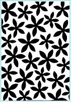 Elizabeth Craft Designs - Embossing Folder - Petal Power (A2)