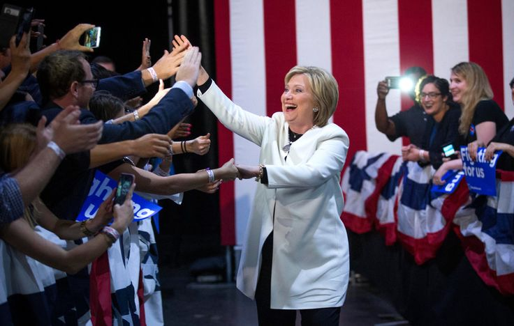 Based on initial results from the primaries and caucuses across 11 states, Mrs. Clinton was strongly positioned to contain Bernie Sanders to liberal strongholds like his home state, Vermont. #ImWithHer #Hillary2016 #MadamPresident :: God bless, Miles :D