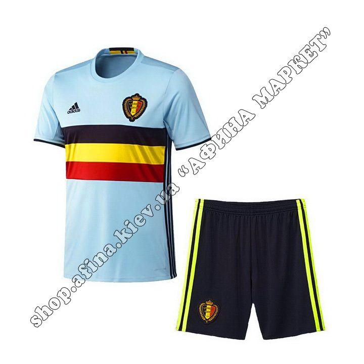 Форма Бельгии ЕВРО-2016 Adidas выездная