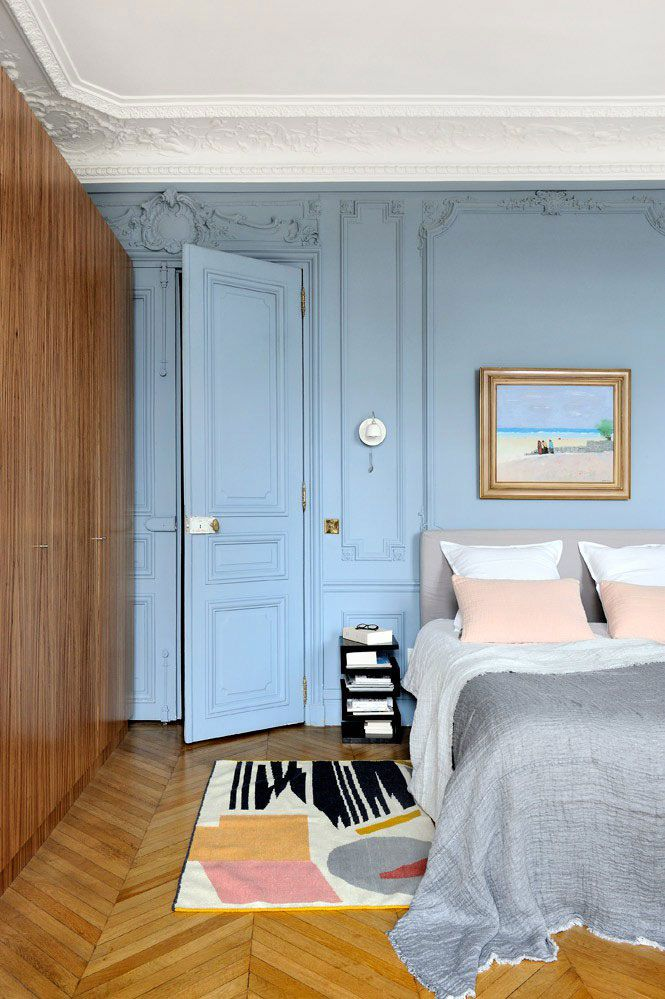 Magnificent historic residence in Paris got a new life
