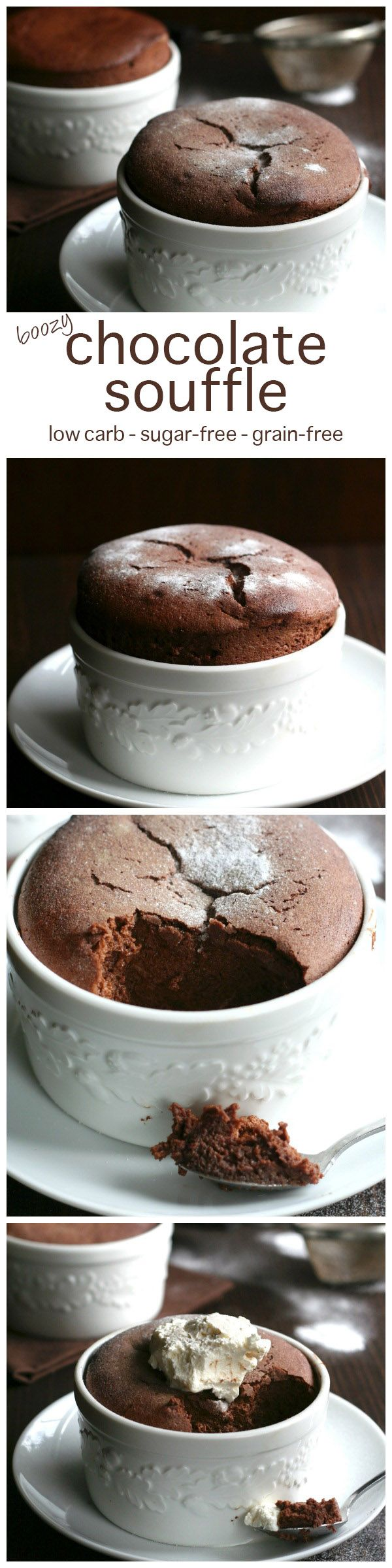 Low Carb Chocolate Souffle