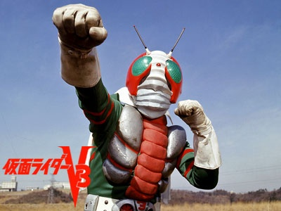 仮面ライダーV3 かっこいいよね