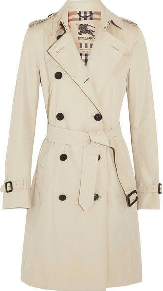 Favourite #Burberry #Trench Ever! Perfect shade of stone that works with every combination under the sun!♡♡