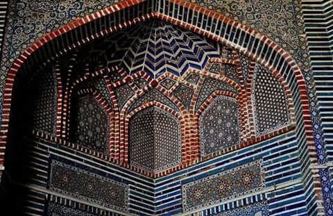 Shah Jahan Mosque,Thatta, Sindh, Pakistan