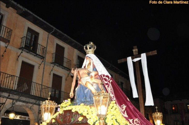 Virgen del Mercado, La Dolorosa, Viernes de Dolores en León