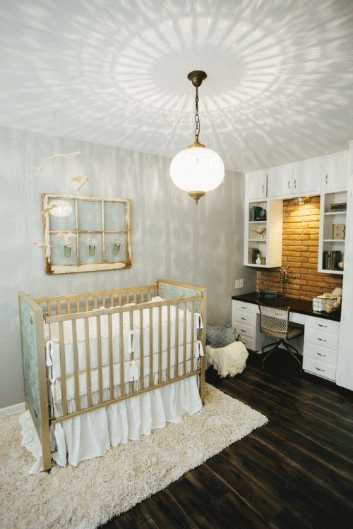Fixer Upper Season 2 | Chip and Joanna Gaines Renovation | The Mid-Century Modern Home | Nursery | Lighting | Antique Lighting | Bedroom Lighting