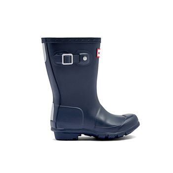 Hunter Original Kids Navy Wellies
