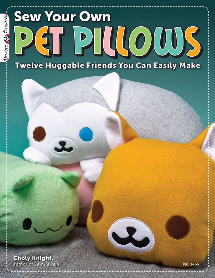 How To Sew Animal Pillows : 944 best Sewing Patterns images on Pinterest
