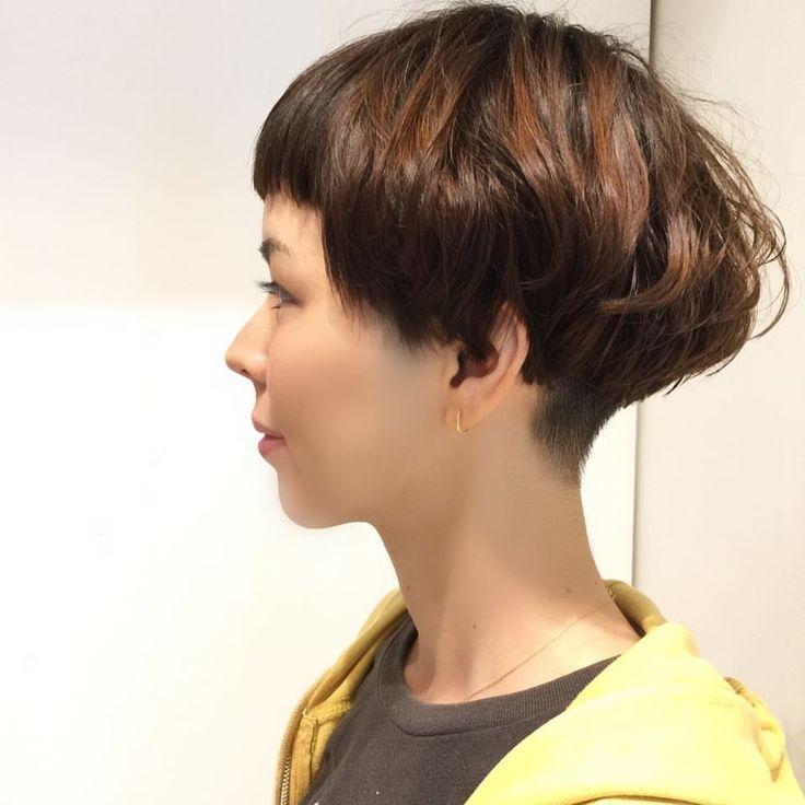 #pupa_style #担当者ジャハナ #ショート #パーマ #短めバング #ぱっつんバング #ワカメちゃんボブ #ショートボブ #予約受付中 #那覇市美容室 #国際通り #沖縄🌺 #pupa #hairstyle #hairstyles #haircut #hair