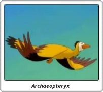Archaeopteryx / En busca del Valle Encantado / The Land Before Time / Don Bluth / Amblin