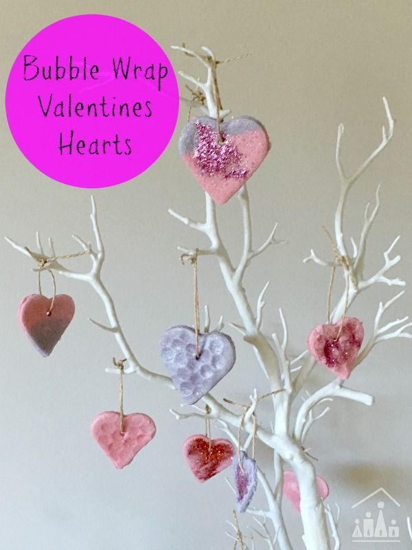 Brighten up the winter gloom with our Beautiful Wrap Heart Decorations for kids made from Salt Dough. Ideal crafts for Valentine's Day.