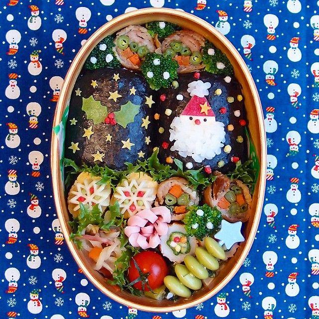 今日の旦那さん弁当。 クリスマスっぽいお弁当。 お弁当のデコは大体前の日に考えておくん... | Use Instagram online! Websta is the Best Instagram Web Viewer!