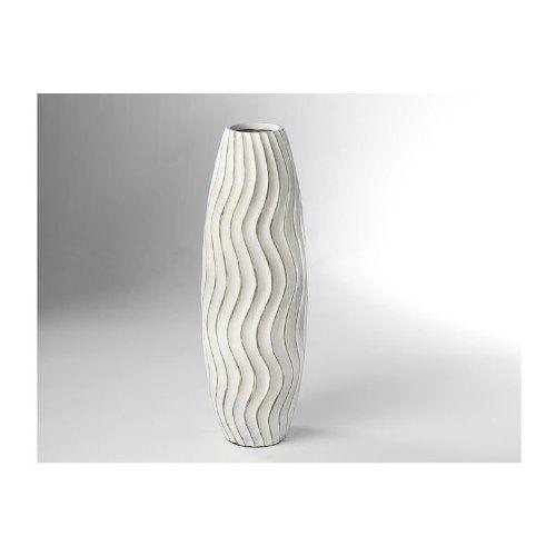 Bodenvase-aus-Polyresin-weiß-0