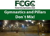 Gymnastics and Pillars Don't Mix! But a Landing Pit with Foam Does! @ Aviva Community Fund