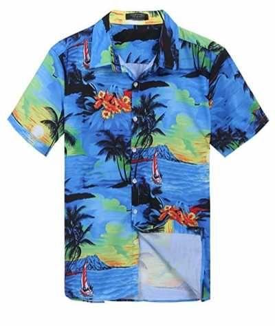 Camisa Hawaiana Manga Corta Ofertas especiales y promociones  Caracteristicas Del Producto: - Material: 97% poliéster, 3% Spandex - Si quieres ir a un