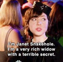 Janet Snakehole ~ Parks and Recreation
