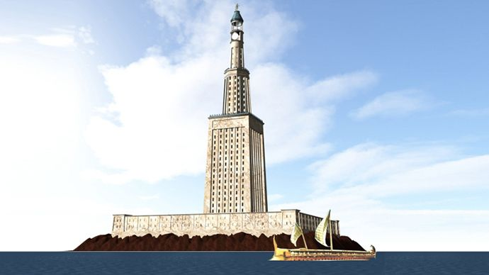 """The Lighthouse of Alexandria - one of the seven wonders of the ancient world - will be rebuilt at its original location, according to Egypt's Supreme Antiquities Council that announced its approval. """"Members of the Permanent Committee of the Egyptian Antiquities have approved an old project, submitted previously by the Alexandria governorate, aiming to revive the lighthouse,"""" Antiquities Council Secretary General Mostafa Amin told Egyptian newspaper Youm7.   Research and the final…"""
