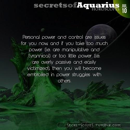 Aquarius Horoscope. Want tomorrow's Aquarius horoscope?   Visit iFate.com today!