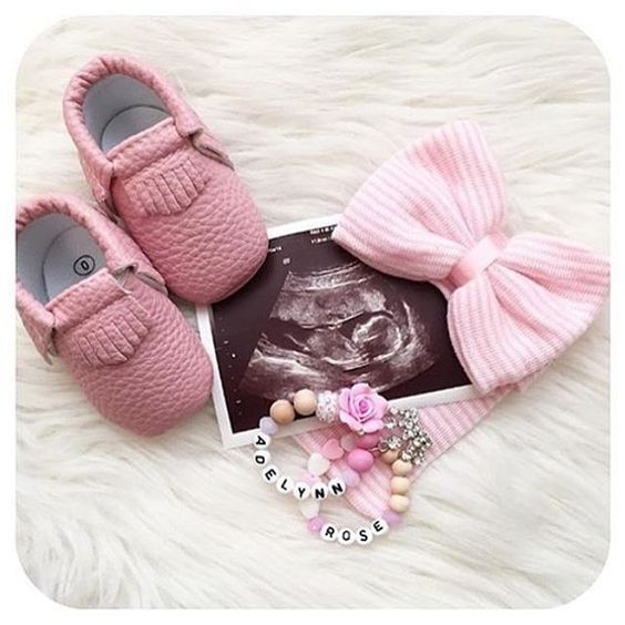 Looking for the perfect way to announce your pregnancy? We just restocked moccs,…
