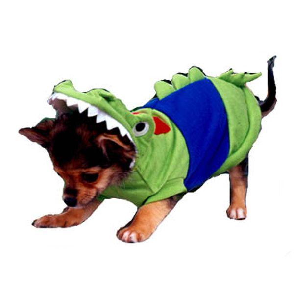 Crocodile Dog Costume Dog Costumes Puppy Costume Dog Halloween