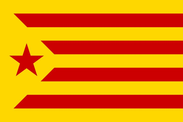 Flag of the Catalan Republic/Estelada roja