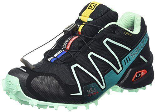 #Salomon Damen Speedcross 3 Gtx Traillaufschuhe, Schwarz (Black/Lucite…