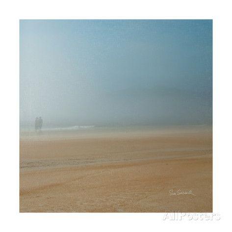 Strandwandeling Kunstdruk