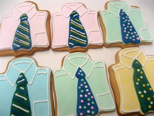 cute for dad Father's Day cookies