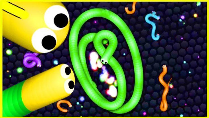 Slither.io BIUE MAGIC SNAKE vs 1000 MONSTER SNAKES! - The Biggest Snake ...