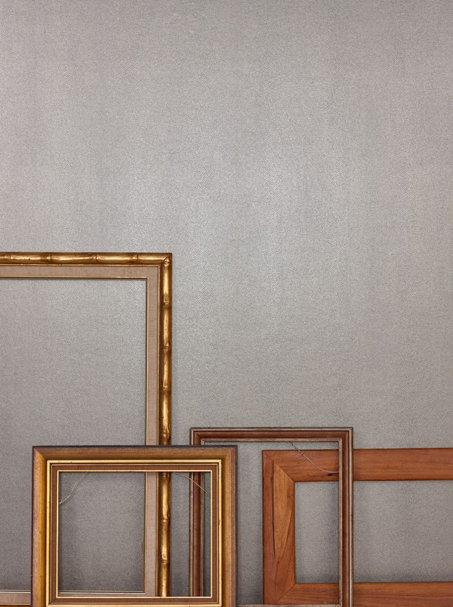 Odeon is a delicate embossed shagreen texture with high performance properties, being the perfect combination of luxury and durability. Featured here in colour Saint Germain alongside these Funktion Frames.