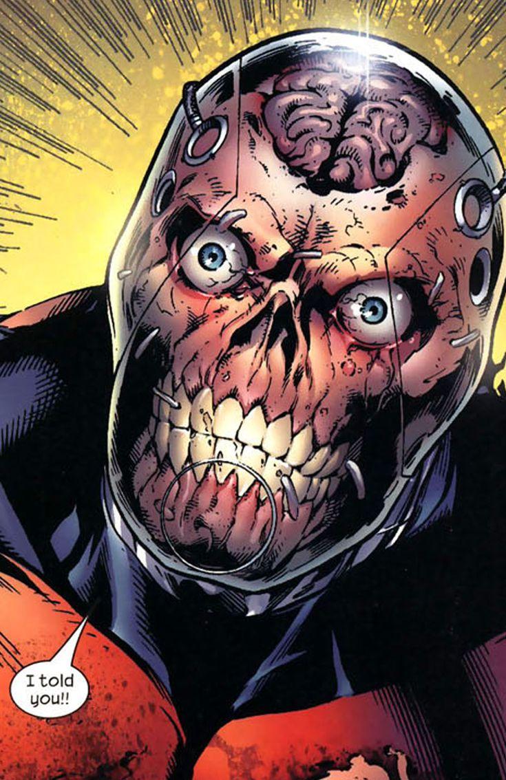 ultimate deadpool face -#main