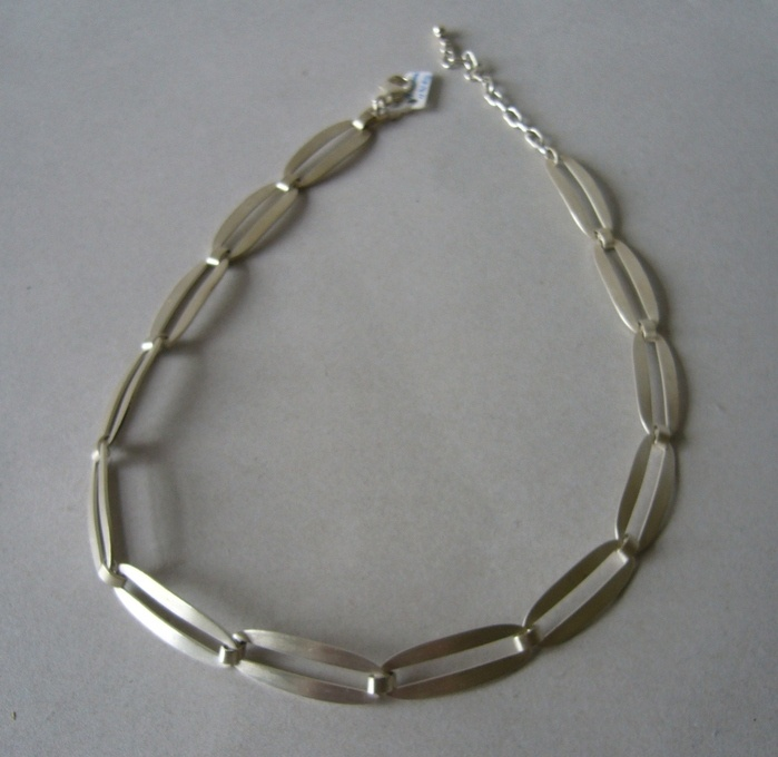 J.Aa Sterling silver necklace