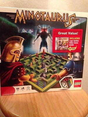 LEGO Minotaurus 211 pcs set,with free LEGO  Nintendo DS Game