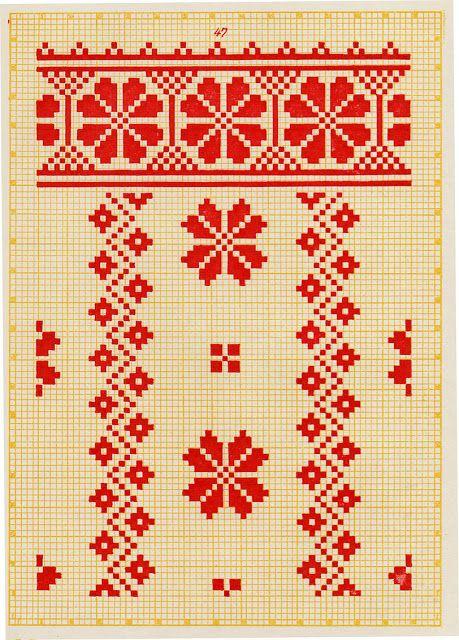 FolkCostume и вышивки: Вышивка из Северной Левобережной Украины, Сумы, Chernyhiw и Стародуб регионов