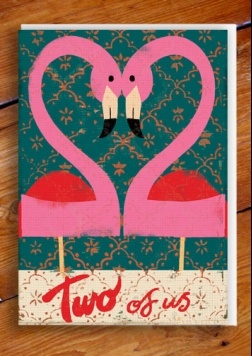 (Paul Thurlby) I love pink flamingoes