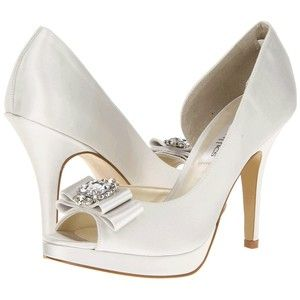 Claire! A platform pump with gorgeous bow and crystal detail.  http://www.ivorysoul.com.au/shop/product.php?productid=17651&cat=&page=1