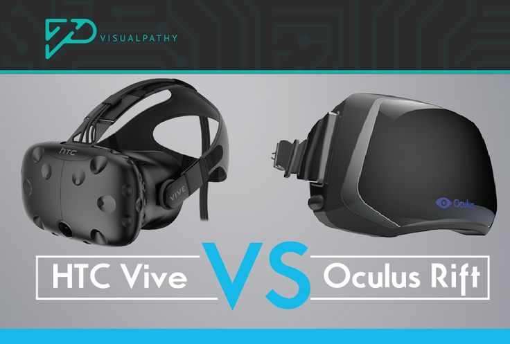 HTC Vive vs Oculus Rift Review - https://blog.visualpathy.com/htc-vive-vs-oculus-rift-review/