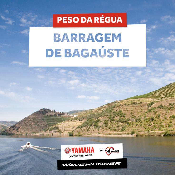 Situada na bacia hidrográfica do Douro, no rio Douro. Possui uma praia fluvial, cais e rampa de acesso. Atividades como barcos a motor, ski, pesca, moto de água e mergulho são permitidas.  #spotyamaha #yamaha #yamahamarine #waverunneryamaha #yamahawaverunner #yamahamarineworld #mundoyamahamarine #foradebordayamaha #motorforadeborda #jetski #motodeagua #made4water #barragemdebagaúste #pesodarégua